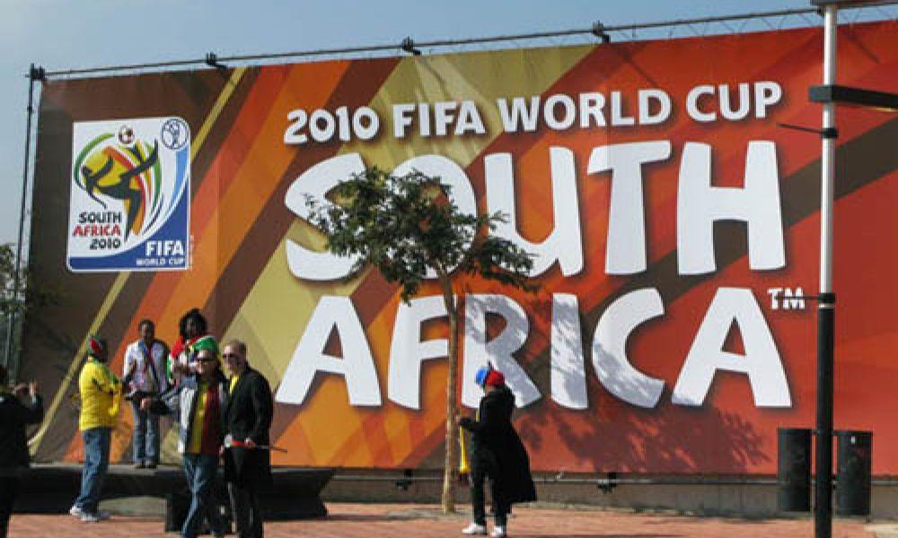 Garrett на Чемпионате мира по футболу
