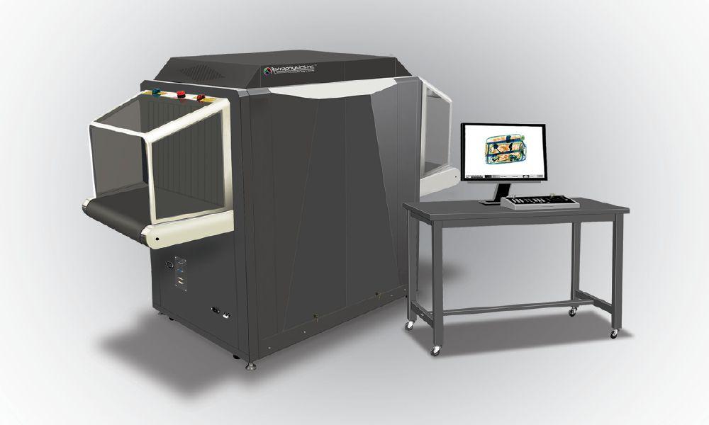 Рентгенотелевизионный интроскоп с 3D изображением досматриваемых объектов