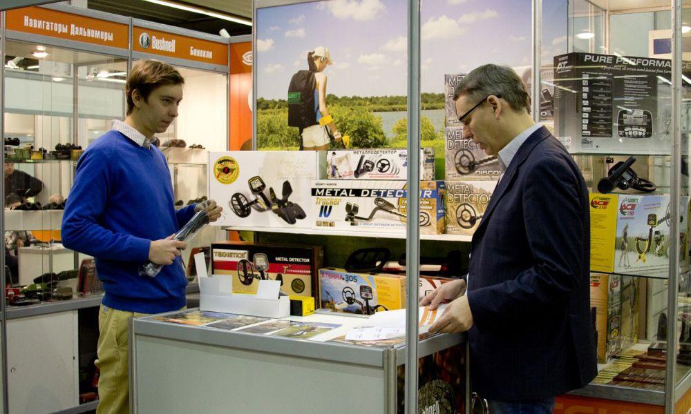 Компания РЕЙКОМ ГРУПП приняла участие в 37-й международной выставке «Охота и рыболовство на Руси»