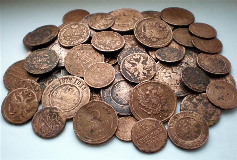 Имперские и раннесоветсвие монеты