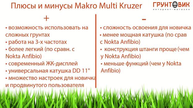 Makro_Multi_Kruzer_osobennosti_metalloiskatelya