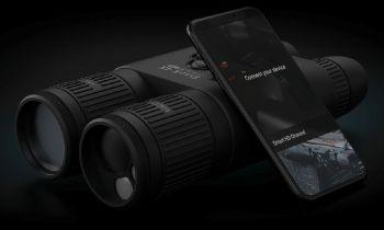 Новинка! Впервые в России! Бинокль с ночным видением и встроенным лазерным дальномером ATN BinoX 4K 4-16x