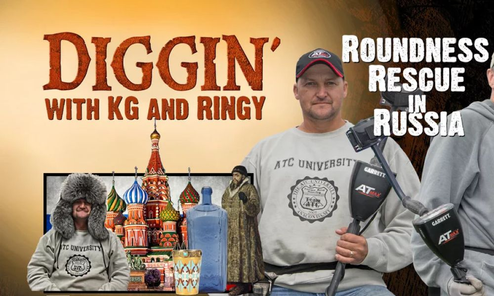 Russian episode Diggin'with KG and RINGY